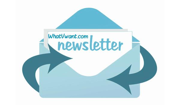 whatvwant newsletter