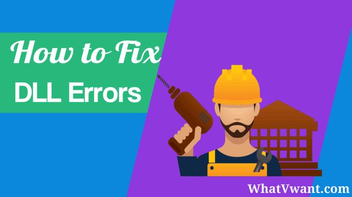 Fix DLL errors