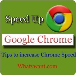 speed up chrome