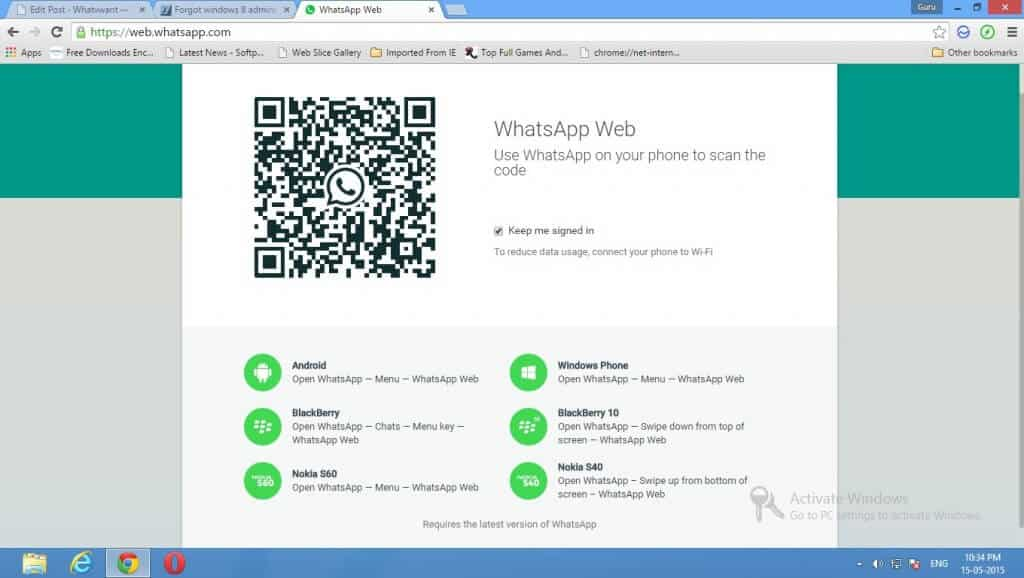 Whatsapp Messenger For Pc (windows 7/8) Without Bluestack