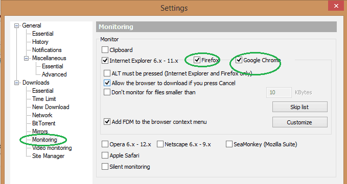 Browser With Download Manager