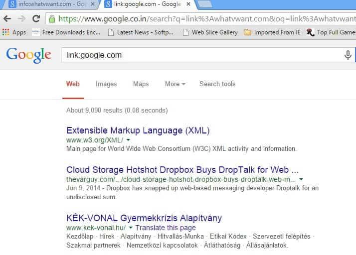 link google