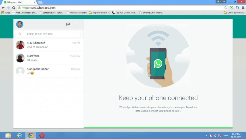 whatsapp software  for pc windows 7