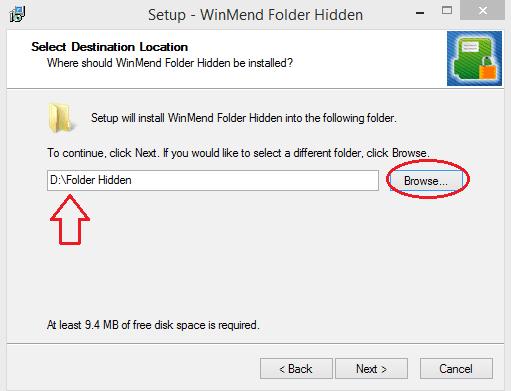 Hide files on USB