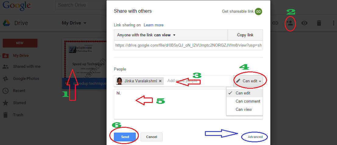 How To Share Files On Google Drive From PC And Mobile