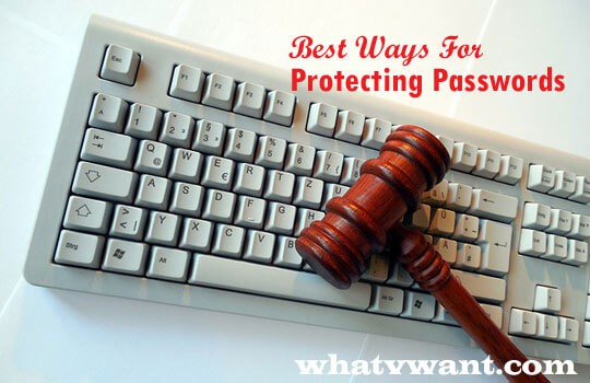 Protecting passwords