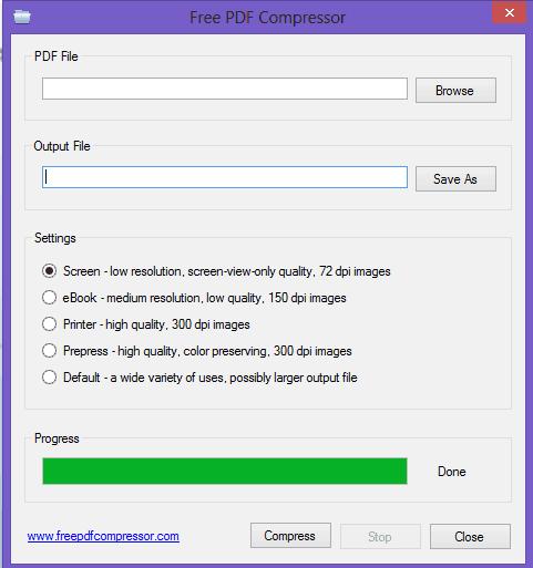 compress pdf software