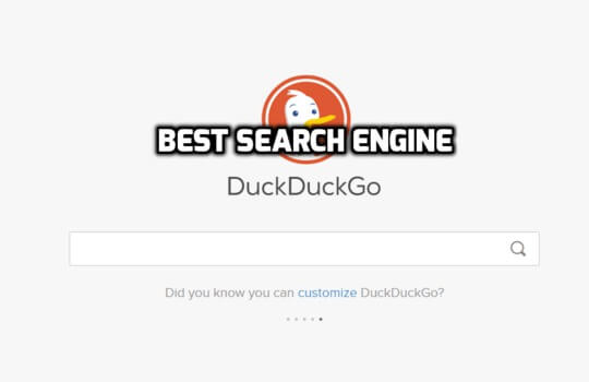 DuckDuckGo Is One Of The Best Search Engine To Use