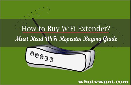 Comment acheter une extension WiFi