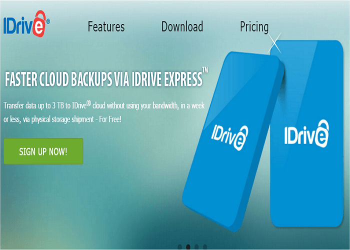 cloud backup storage iDrive