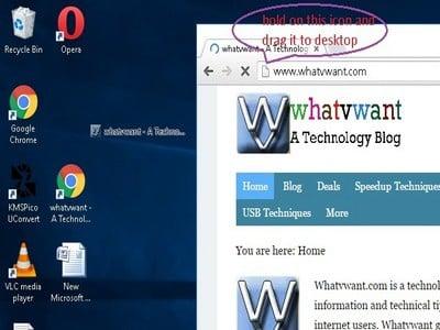 How To Create A Website Shortcut On Desktop -2 Easy Methods