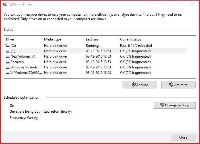 how to defrag computer