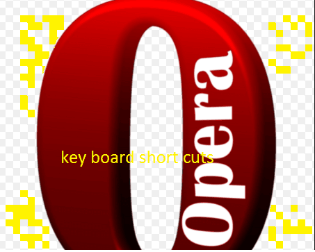 Opera keyboard shortcuts