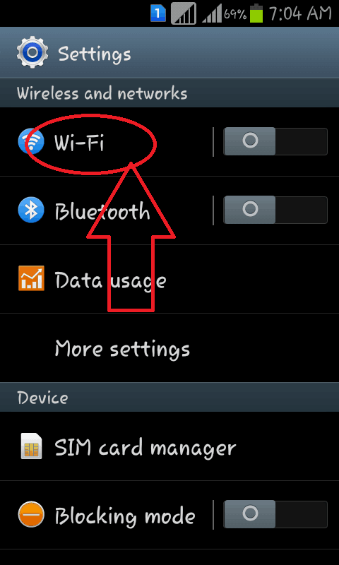 WiFi doesnot stay connected