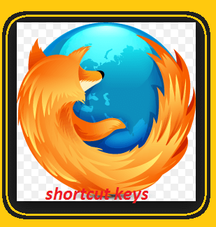 Firefox keyboard shortcuts
