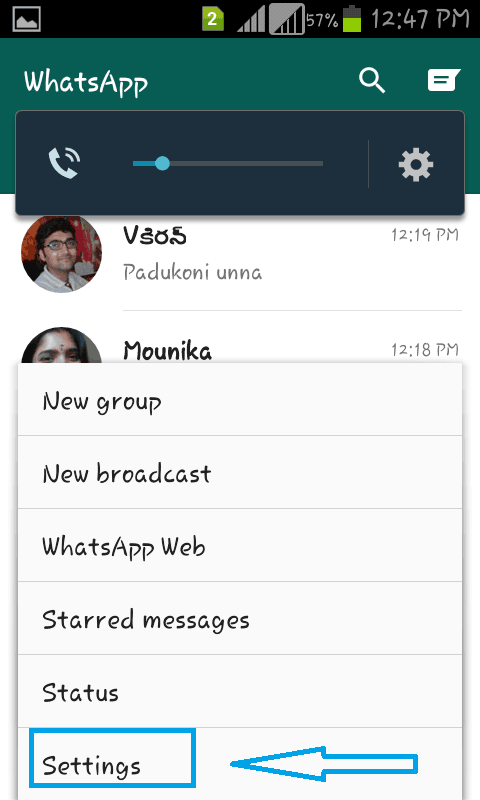 clear whatsapp chatting