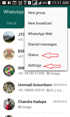 How to change whatsapp profile picture