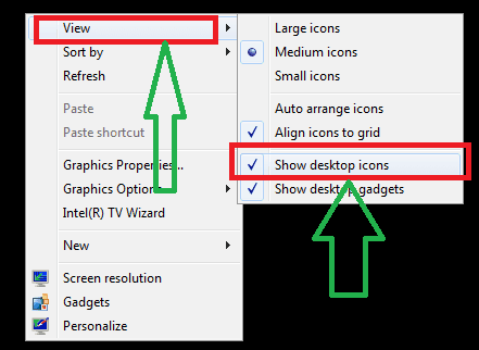 show-desktop-icons-how-to-change-desktop-icon-size-in-windows--showhide-icons