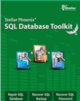 Stellar Phoenix SQL Database repair toolkit