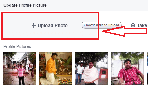how to change the photo on facebook intro