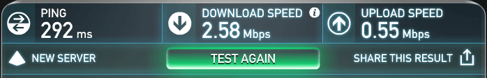 speedtest without vypr vpn
