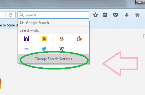 google default search