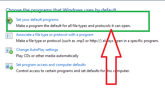 How to change default browser