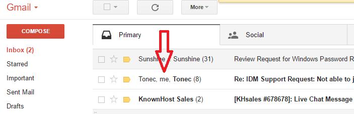 change gmail address