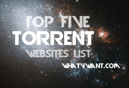 top 5 torrent sites