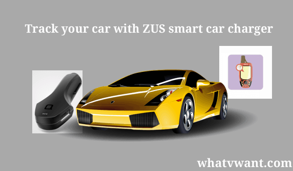 track your car with zus