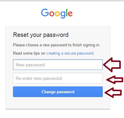 How to retrieve forgotten gmail password