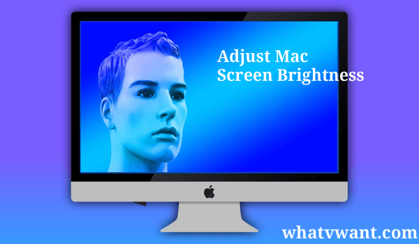 mac screen brightness