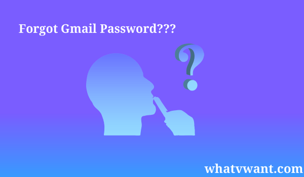 recover gmail password