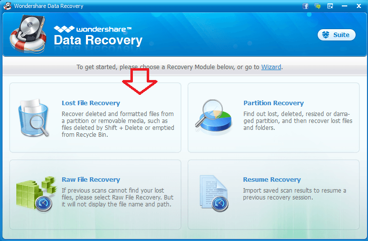 standard-mode-wondershare-how-to-recover-deleted-files-from-hard-drive-with-wondershare