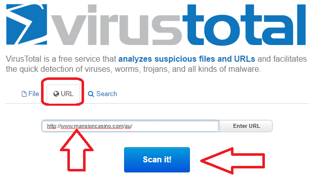 using virustotal
