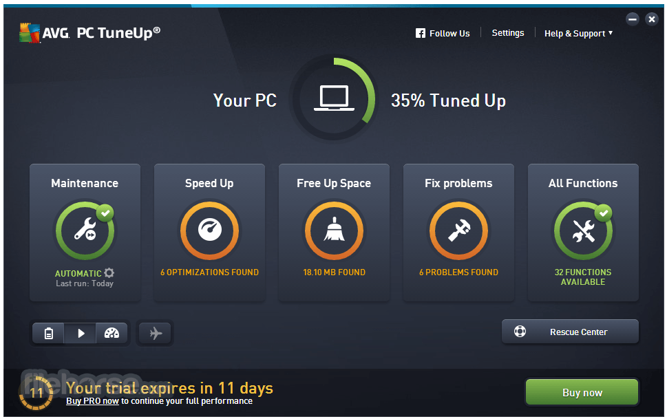 Best pc tune up software