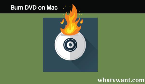 burn dvd mac