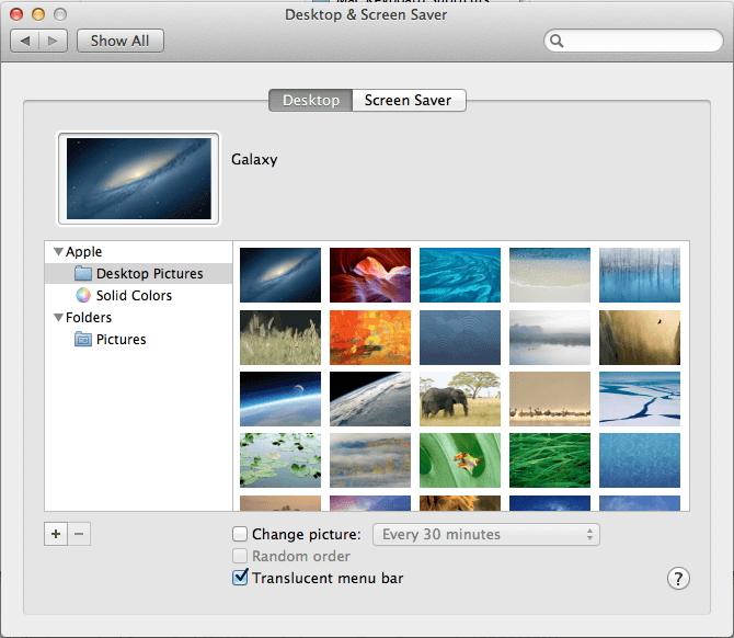 Easy Tip to Create Mac Desktop Slideshow With Pictures