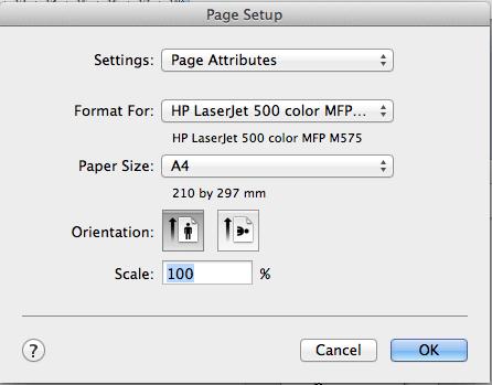 add margins to pdf mac