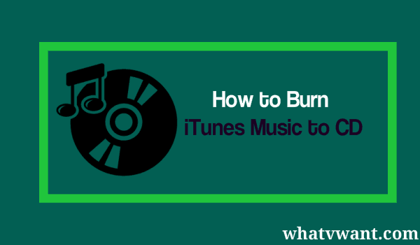 burn itunes music to cd