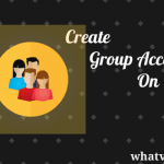 How to Create a group account on Mac