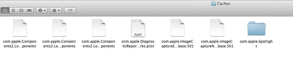 caches-folder