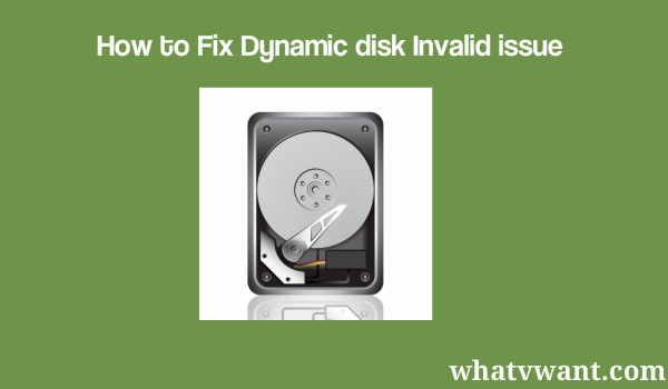 dynamicdiskinvalidissue-what-is-dynamic-disk-invalid-issue-and-2-ways-to-fix-it