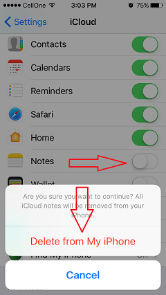 iPhone notes app keeps crashing
