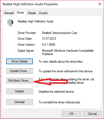 rollback-driver-9-fixes-for-sound-not-working-on-computer-windows-1087xp-issue