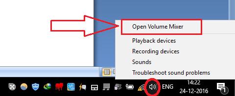 computer sound not working windows 7