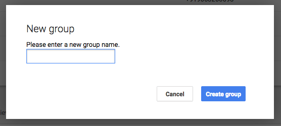 Click New Group