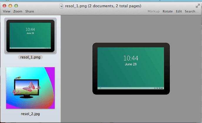 how to run slideshow on mac