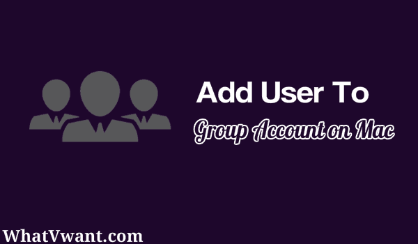 add user mac group