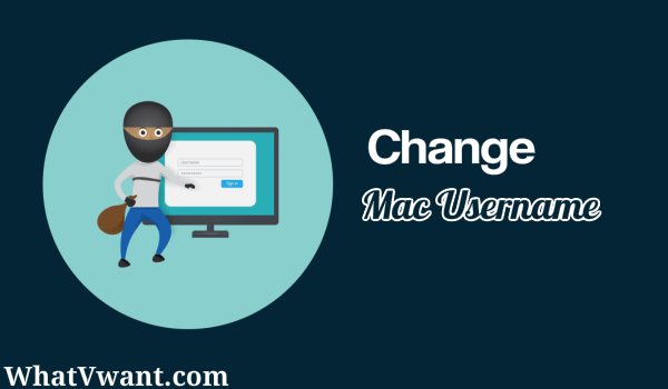 change username mac